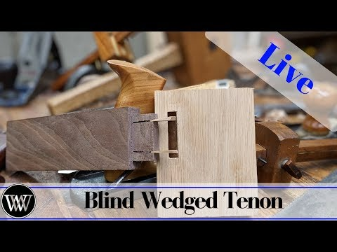 making-a-blind-wedged-mortise-and-tenon-|-live