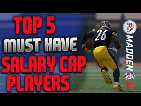 TOP 5 MUST HAVE CARDS FOR SALARY CAP! MUT 18 SALARY CAP TEAM BUILDER