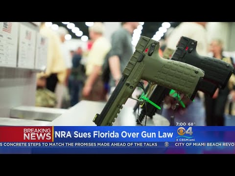 NRA Files Federal Lawsuit Over Florida Gun Legislation
