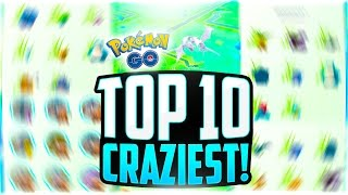 Pokemon Go - The Top 10 BEST Pokemon Go Sightings! (24,000 POKECOINS GIVEAWAY!)