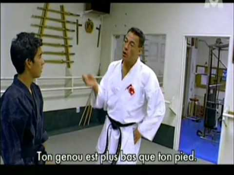 78767a84b4132 Jean-Claude Van Damme - Full and complete KARATE class - YouTube