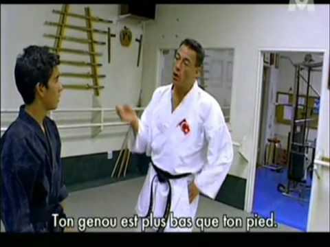 Jean-Claude Van Damme - Full and complete KARATE class