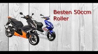 Die 10 besten 50ccm Roller (2017) !