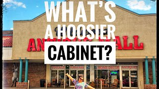 What's a Hoosier Cabinet? Wildwood Lakeland Antique Mall