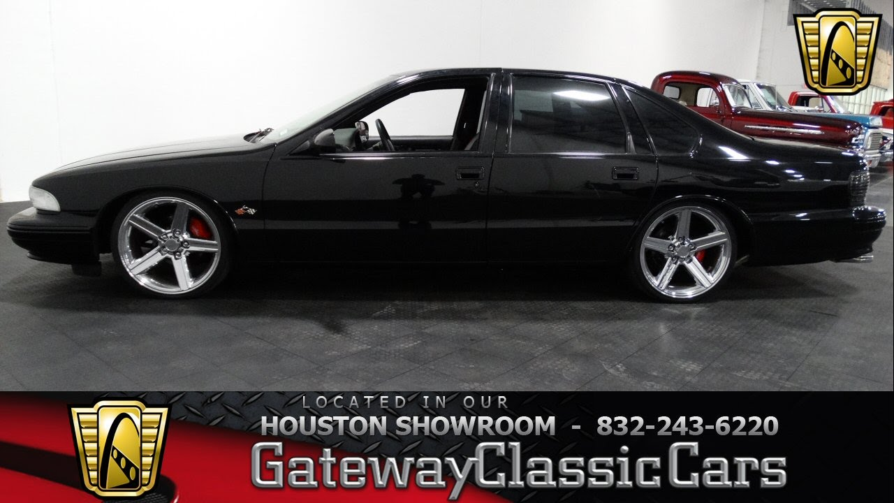 1995 Chevrolet Impala SS Gateway Classic Cars of Houston Stock 389 ...