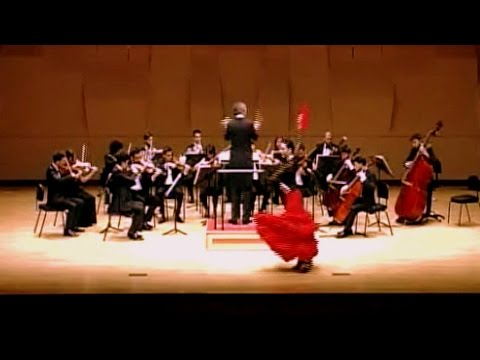 Isaac Albéniz Sevilla op.47, Spanish Orchestra with Dance