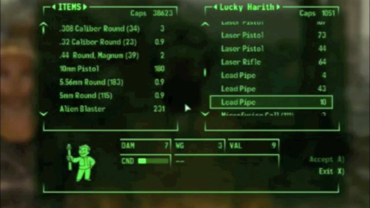 Fallout 3 - Shishkebab Schematics on