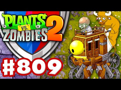 Arena with Zombot War Wagon! - Plants vs. Zombies 2 - Gameplay Walkthrough Part 809