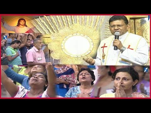 Powerful Eucharistic Adoration By Fr. Augustine Vallooran - Divine Retreat Centre