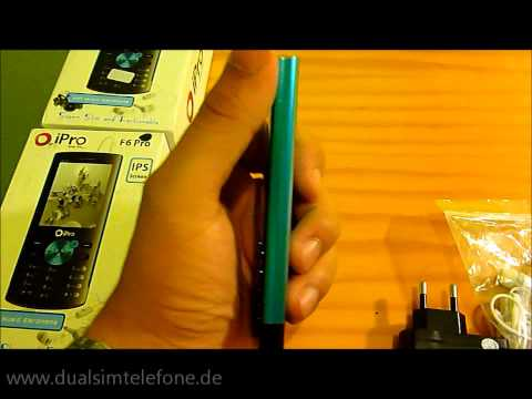 F6 DUAL SIM HANDY TOP QUALITÄT - DUALSIM - LUXUS - JAVA ULTRA-SLIM 9,9 MM S/B