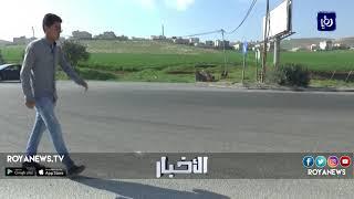 تقاطع مخيم الشهيد عزمي المفتي يتحول إلى مصيدة للمركبات - (12-3-2018)