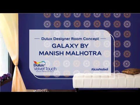 Dulux Designer Room Concept - Galaxy by Manish Malhotra