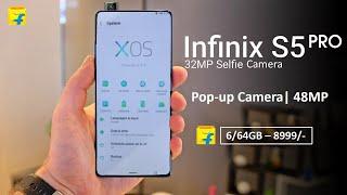 Infinix S5 Pro: 48MP Camera, Pop-up Camera, SD 665, Unboxing | Infinix S5 Pro | 2020