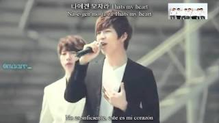 U-KISS - When love stops [Sub español + Rom + Hangul] + MP3 Download