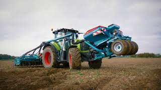Sulky Xeos TF TwinDisc 6 m - CLAAS Tractor