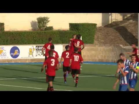 Segunda 2017-18. Goles CD Izarra 2 - Arenas Club 2