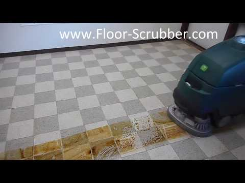 Nobles SS5 Floor Scrubber Cleaning Machine Demo