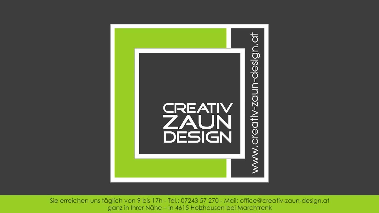 Creativ Zaun Design Gmbh Wt1 Werbespot Youtube
