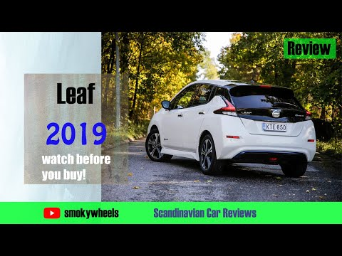 Nissan Leaf 2019 Review - Electric