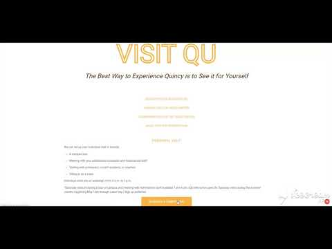 How To Schedule A Quincy University Campus Tour