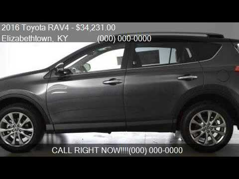 2016 Toyota Rav4 Limited Awd 4dr Suv For In Elizabethto