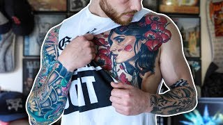 One of Alex Harrison's most viewed videos: MY TATTOOS | THE GOOD, THE BAD AND THE DUMB