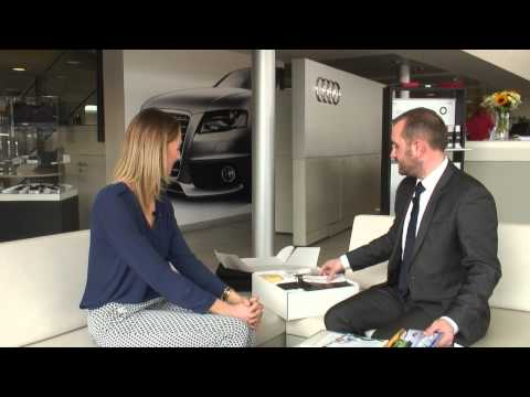 Audi Salisbury Customer handover training