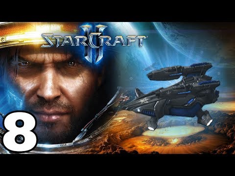 Starcraft 2 Wings of Liberty - Misión 8 - ASALTO Y ROBO DE UN TREN - (BRUTAL)