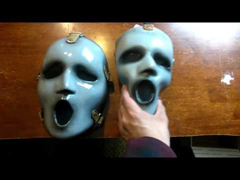 MTV scream AUZ Brandon James Mask unboxing.