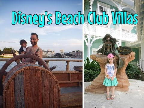 Check- In to Disney's Beach Club villas & Stormalong Bay Vlog: Day ONE Part ONE September 14, 2015