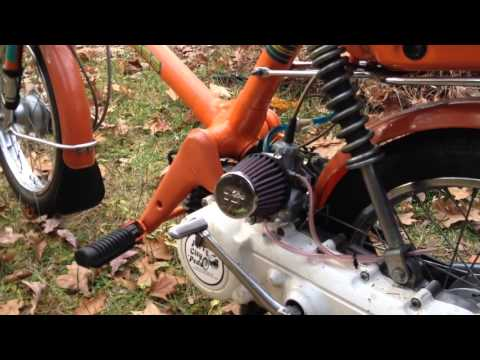 Honda Express Moped Performance Tuned