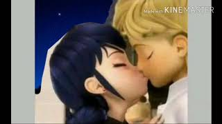 Miraculous Ladybug Speededit|Adrinette First Kiss