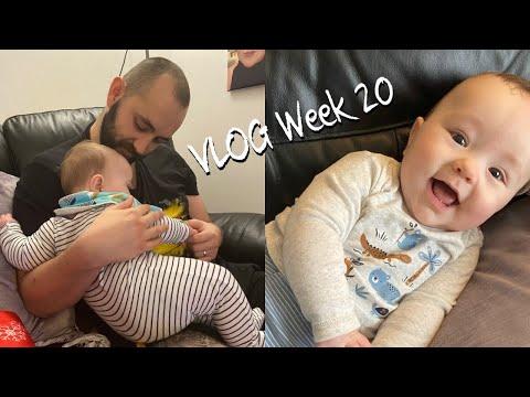 VLOG WEEK 20 - Paul's Nightshift, Cleaning the Kitchen & Mini Tesco Haul!