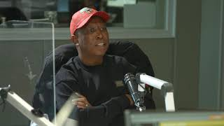 EFF CIC Julius Malema on Kaya Drive: