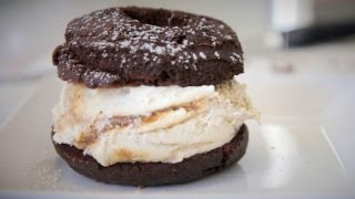 Donut Ice Cream Sandwiches. Enough Said. - NY CHOW Report