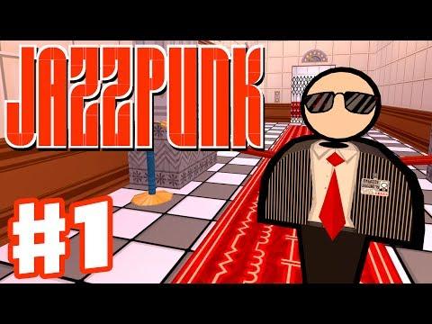 Jazzpunk - Gameplay Walkthrough Part 1 - Infiltrate the Soviet Consulate (PC Indie Game)