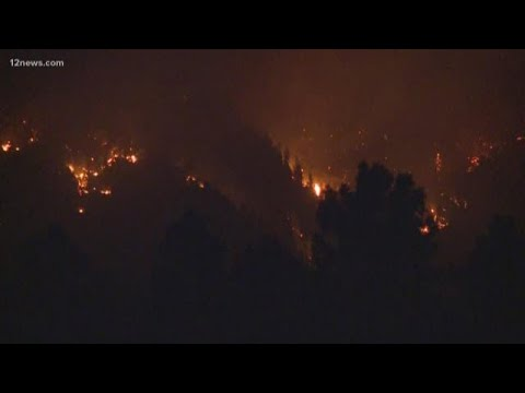 Museum Fire Burning North Of Flagstaff Grows To 400 Acres