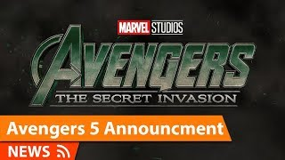 Avengers Secret Invasion Announcement at SDCC & More