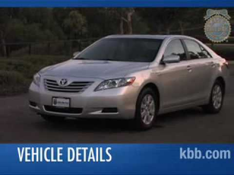 2008 toyota camry hybrid review kelley blue book youtube. Black Bedroom Furniture Sets. Home Design Ideas