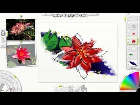 Artrage Kresleni Kvetiny Youtube