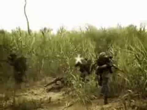 Vietnam LRRP Re-enactment Video