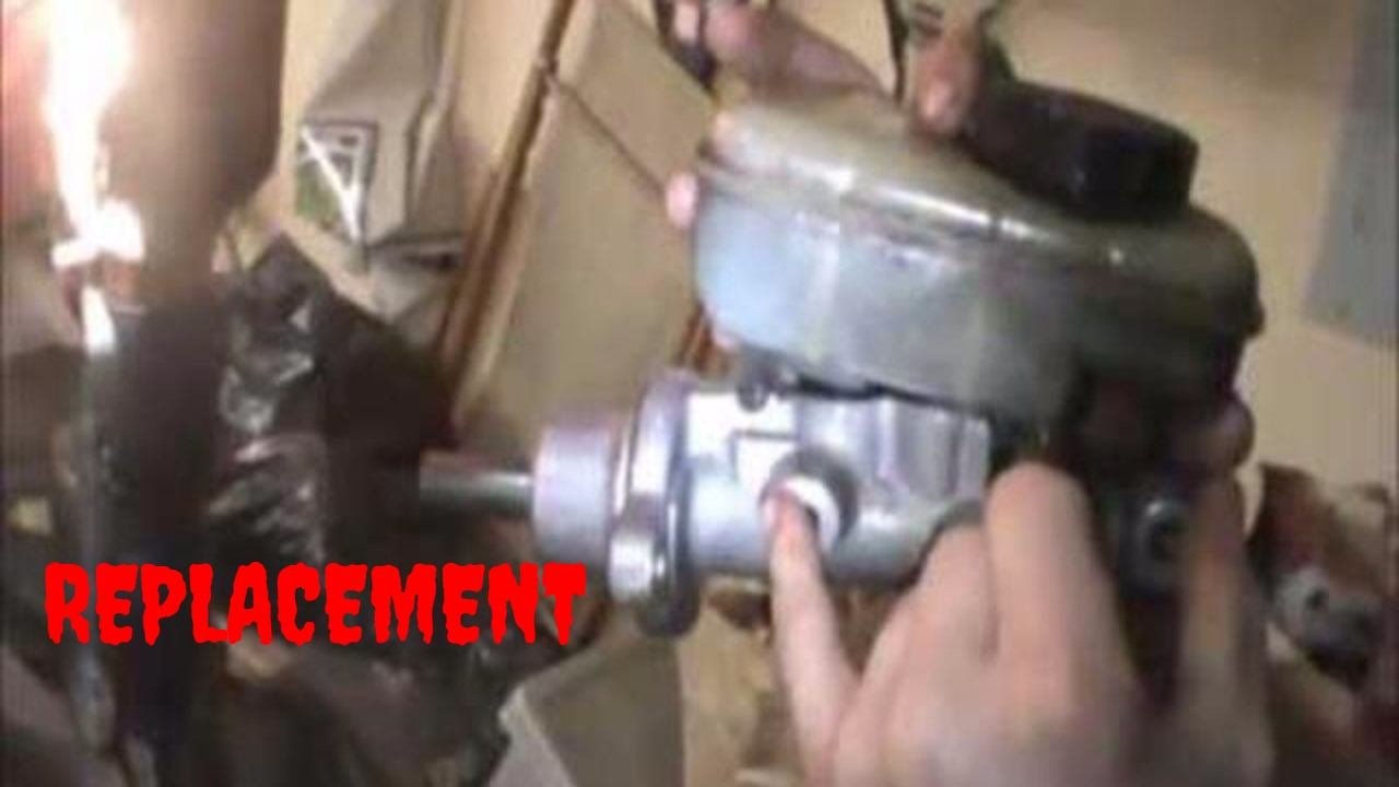 How To Replace Master Brake Cylinder 1990 1997 Mercury Cougar Ford 1948 Thunderbird Video