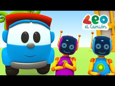 Leo el Pequeño Camión  - Leo ayuda a los robots