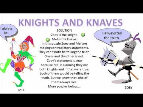 Solution Knights and Knaves