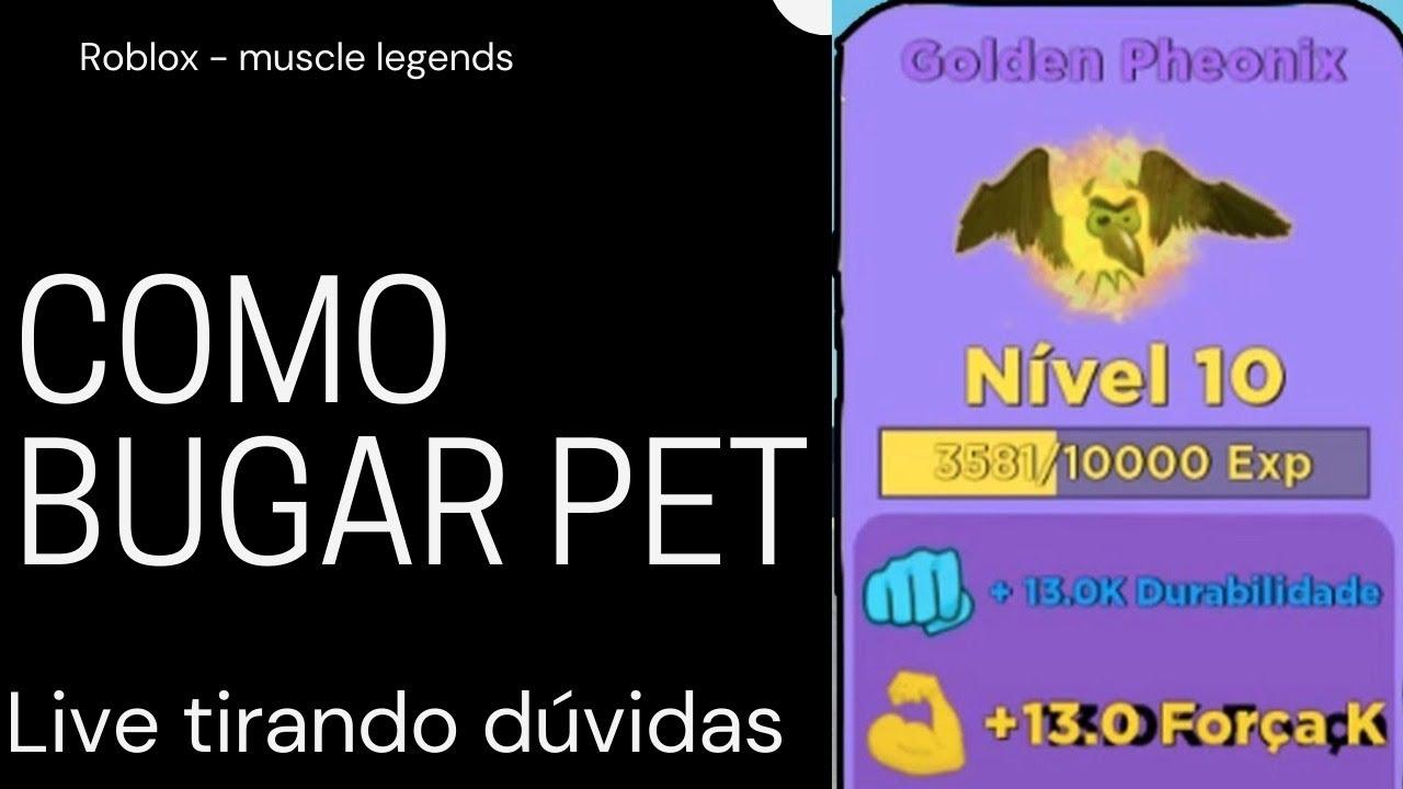 COMO BUGAR PET (LIVE) Roblox - Muscle legends