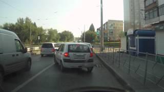 Авария такси и Ford в Кемерове