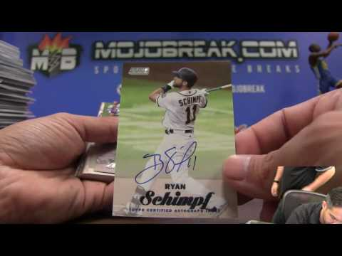 2017 Topps Stadium Club Baseball 16 Box Case Break #1 Recap