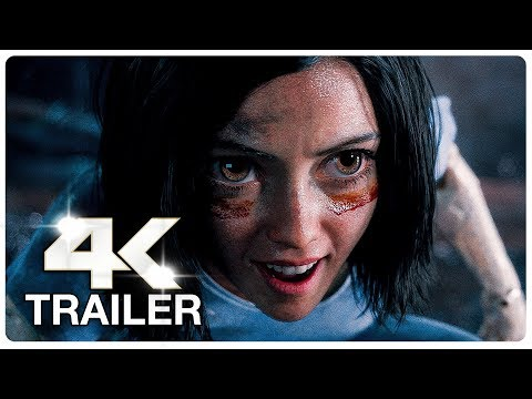 ALITA BATTLE ANGEL Trailer 2 (4K ULTRA HD) NEW 2018
