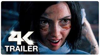 ALITA BATTLE ANGEL Trailer 2 (4K ULTRA HD) NEW 2018