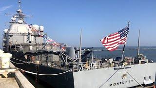 Кремль в ауте: крейсер ВМС США перехватил судно с российскими противотанковыми ракетами